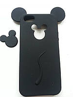 Силиконовый чехол Микки Маус на Iphone 5/5S черный, фото 1