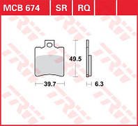 Тормозные колодки TRW / Lucas MCB674