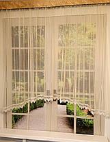 "Тюль-сетка арка ""Ажур"", кухонные шторы, фото 2"