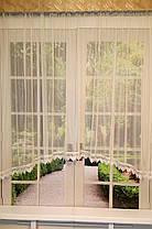 "Тюль-сетка арка ""Ажур"", кухонные шторы, фото 3"