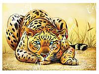 "Схема для вышивки бисером леопард ""Саванна"", фото 1"
