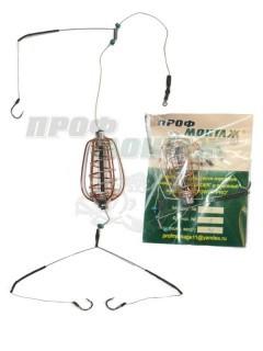 Кормушка оснастка груша некрашеная вес 30 гр.
