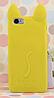 Чехол силиконовый Желтый кот iphone 5/5S силикон