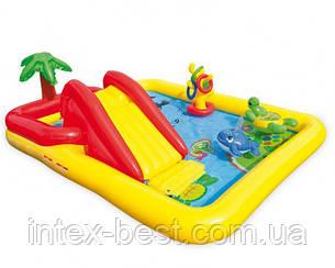 """Детский надувной игровой центр """"Океан"""" Intex 57454 (254х196х79 см.), фото 2"""