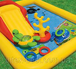 """Детский надувной игровой центр """"Океан"""" Intex 57454 (254х196х79 см.), фото 3"""