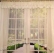 "Тюль-сетка арка ""Ажур Люкс"", кухонные шторы, фото 2"