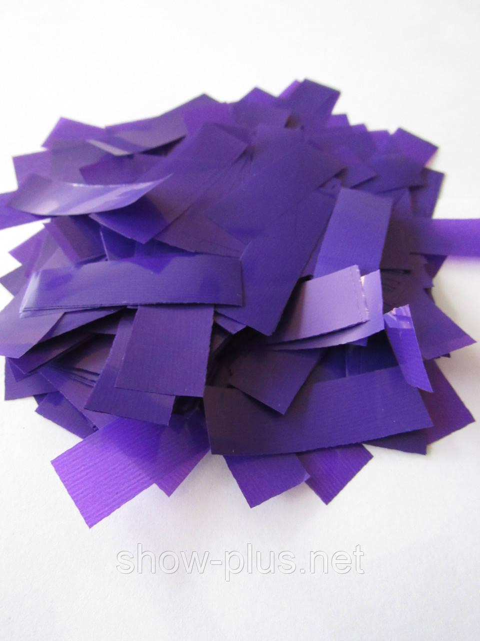 Конфетти: Метафан фиолетовый матовый с лаковым блеском