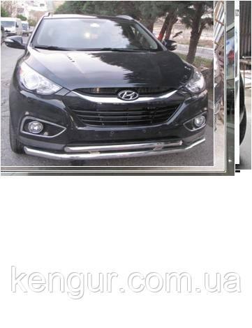 Кенгурятник Hyundai ix 35