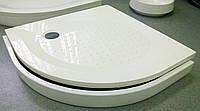 Поддон для душа из искусственного мрамора 90 см Fancy Marble Украина