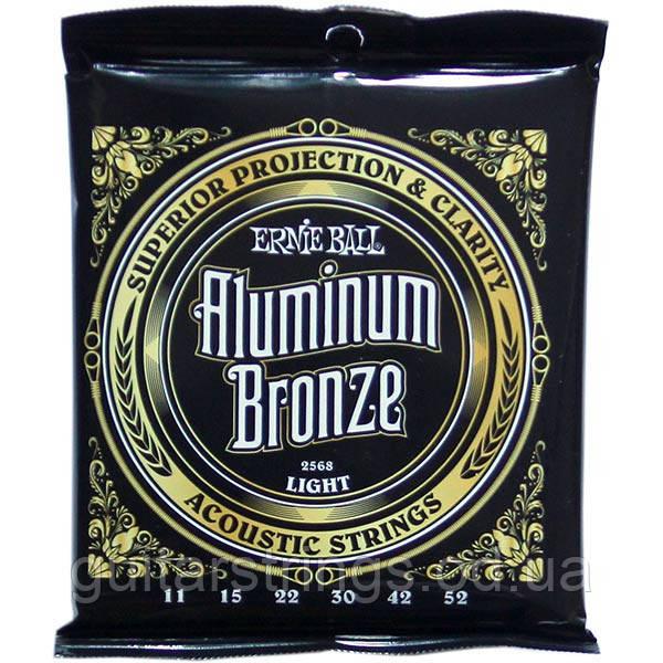 Струны Ernie Ball 2568 Aluminum Bronze Light 11-52