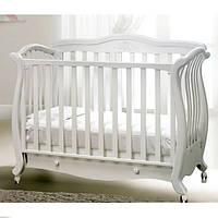 Кроватка-софа Baby Italia Andrea Lux Glitter White