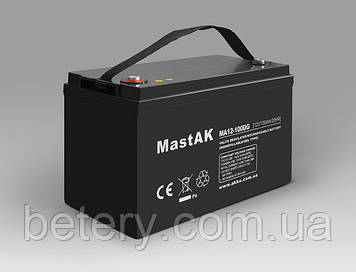 Аккумулятор MastAK MA12-100 (12v 100Ah)