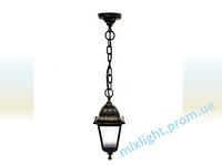 Светильник подвесной садово-парковый Кантри НЛ 04 матовое стекло медь