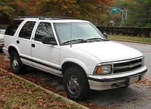 Автостекла для Шевроле блазер / chevrolet blazer s10 (внедорожник) (1995-2000)