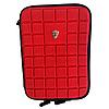 Универсальный Чехол сумка для планшета 7-дюймов Ткань, Молния, Уголки (резинка), Красный