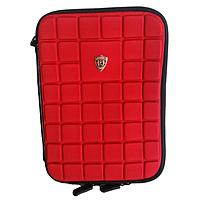 Универсальный Чехол сумка для планшета 7-дюймов Ткань, Молния, Уголки (резинка), Красный, фото 1