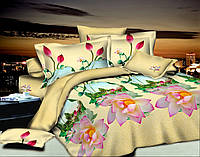Полуторный комплект постельного белья Гармония