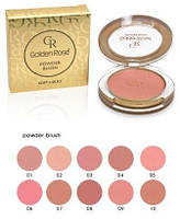 Румяна «Golden Rose» Powder Blush, фото 1