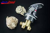 Смеситель регулировки холодной и горячей вод для гидромассажной ванны и скрытого монтажа (J-7041) встраиваемый