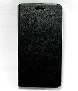 Чехол книжка для Lenovo A5000 боковой PREMIUM, Черный