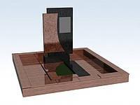 Гранитные памятники от производителя (Образец №113)