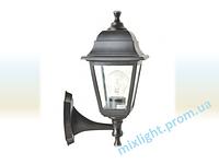 Светильник садово-парковый бра Кантри НБУ 04 НС 04 черный алюминиевый прозрачное стекло