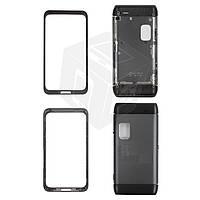 Корпус для Nokia E7-00 - оригинальный (серый)
