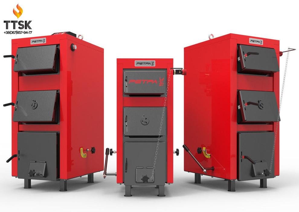 Ретра-5М PLUS Мощность 32 КВТ Котел утилизатор - длительного горения на твердом топливе