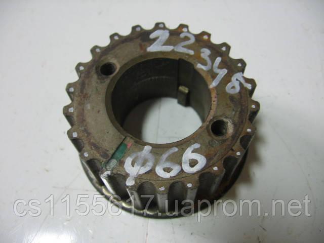 Шестерня коленвала 05340 б/у 1.9dci на Nissan Interstar после 2001 года (22 зуба)