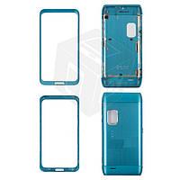 Корпус для Nokia E7-00 - оригинальный (синий)