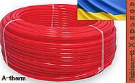 Труба (ЭКО) A-therm антидиффузионная для теплого пола (б. 200м.) 16х2 PE-RT (красная матовая)