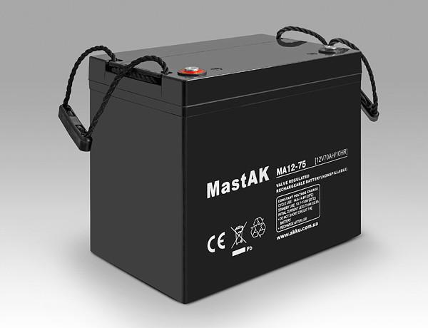Аккумулятор MastAK MA12-75 (12v 75Ah)
