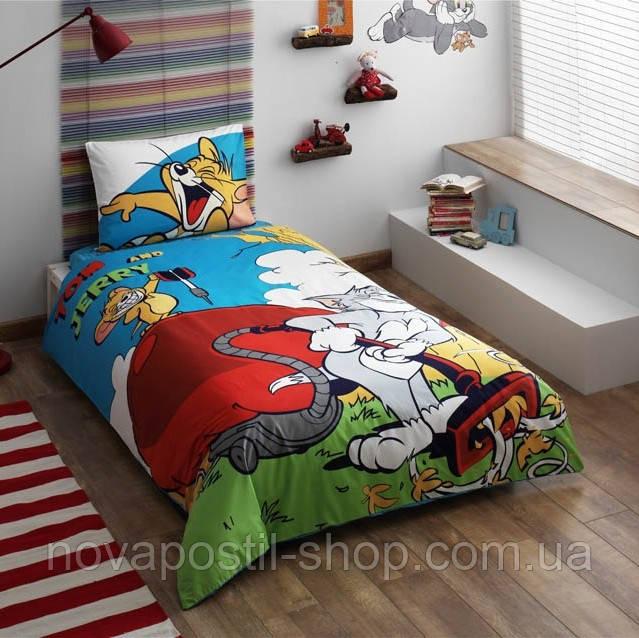 Комплект постельного белья TOM AND JERRY COMICS