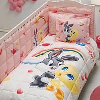 Набор для новорожденных в кроватку TAC - Looney Tunes Tweety and Bugs Bunny Baby