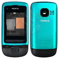 Корпус для Nokia C2-05 - оригинальный (синий)