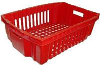 Ящик пластиковый пищевой Размер: 600x400x180.
