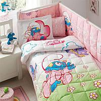 Набор для новорожденных в кроватку TAC - Sirinler baby