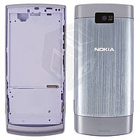 Корпус для Nokia X3-02, фиолетовый, оригинал