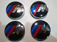 Колпаки в диски BMW M-style диаметр 63мм