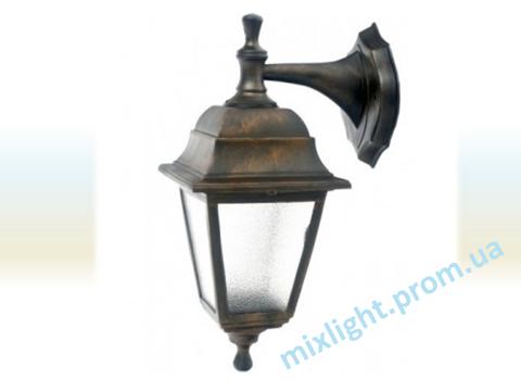 Светильник садово-парковый бра Кантри НС 04 медь алюминиевый матовое стекло