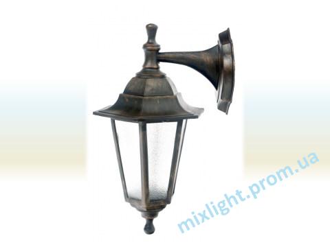 Садово парковые светильник бра Кантри НБУ 06 медь алюминиевый матовое стекло