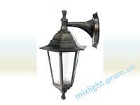 Садово парковые светильник бра Кантри НБУ 06 НС 06 медь алюминиевый матовое стекло