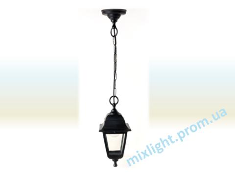 Светильник Кантри НСУ 04 НЛ 04 черный алюминиевый прозрачное стекло