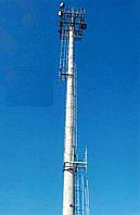 Прожекторные мачты освещения и молниезащиты, дымовые и вентиляционные промышленные трубы - фундаменты для них