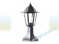 Светильник садово-парковый столбик Кантри НТУ 04 НГ 04 черный алюминиевый прозрачное стекло
