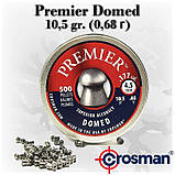 Пневматические пули 4,5 Crosman Premier Domed 500 штук, 0,68г, 6-LUM 77, фото 2