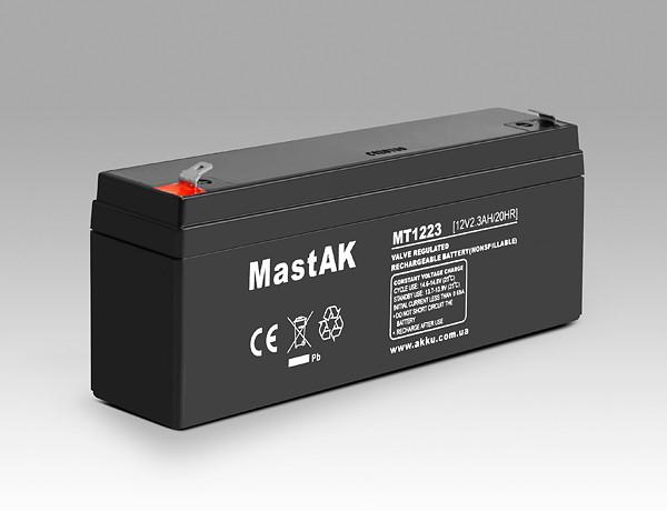 Аккумулятор MastAK MT1223 (12v2.3Ah)