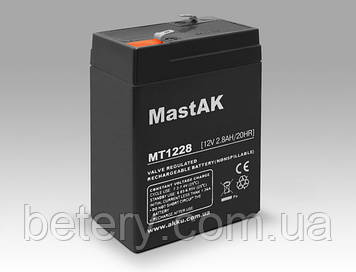 Аккумулятор MastAK MT1228 (12v 2.8Ah)