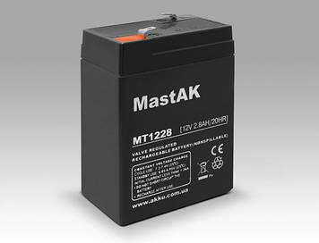 Акумулятор MastAK MT1228 (12v 2.8 Ah)