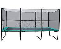 Батут з сіткою та драбиною KIDIGO 457х305см